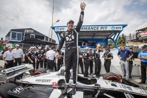 Pagenaud wins for 3rd time and Rossi tightens title race