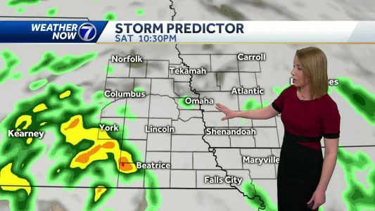 A cloudy and mild start, rain chances return today
