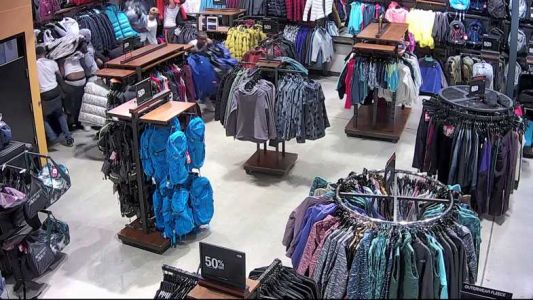 Two arrests made in North Face coat grab and dash