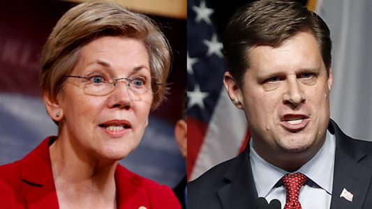 Democratic Sen. Warren, GOP challenger Diehl clash in Senate debate