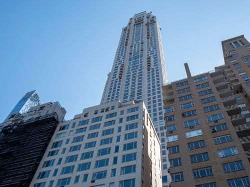 An unknown buyer just dropped $100 million on a Billionaires' Row penthouse in NYC. Here are the other big-name buyers in the building, from Ken Griffin to a Brazilian heiress