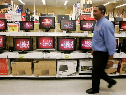 Office Depot and Staples employees say their stores' 'essential' designation is misleading as they sell out of cleaning and work products