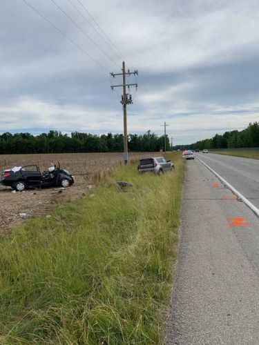 Two-vehicle crash turns deadly in Ripley County, Indiana