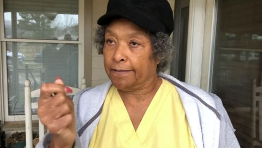 'She's my hero': Great-grandmother uses gun to scare home intruder