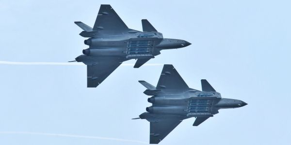 China's most advanced stealth fighter shows off its weapons for the first time, revealing some serious heat
