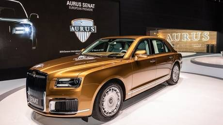 Russia to start mass production of Putin's limo brand Aurus in 2021