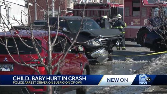 Baby critically injured in reckless driving crash