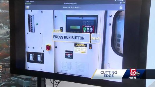 Local company using augmented reality in cutting edge way