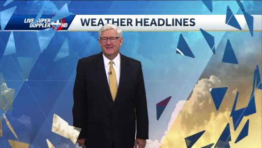 Videocast: Mostly sunny and hot