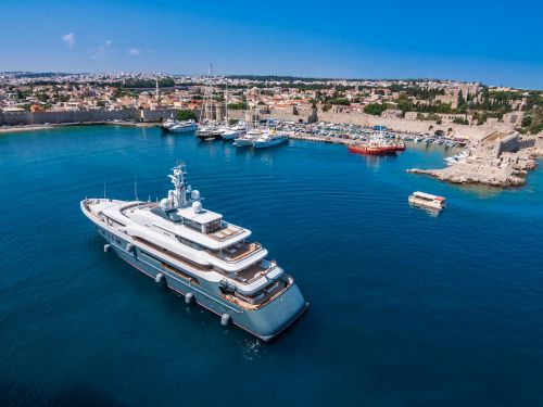 What do you do when already own 5 vacation homes? Buy a custom-built superyacht