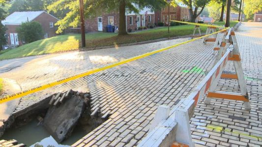 After water main break, Mt. Lebanon neighborhood worried about winter season breaks