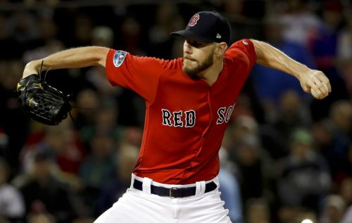 Chris Sale hospitalized after reporting stomach illness, team says