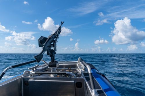 MacDill AFB conducts first waterborne firing training