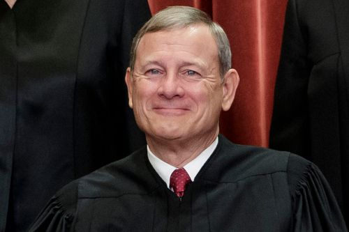 Chief Justice Roberts was hospitalized last month after falling, injuring head