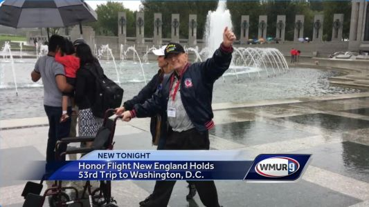 Honor Flight New England holds 53rd trip to Washington