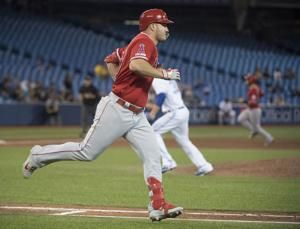 Trout has 2 HRs, 7 RBIs as Angels beat Jays 11-6