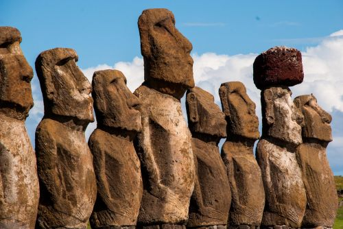 A 36-year-old woman just became the first person to swim around Easter Island. It took her 19 hours