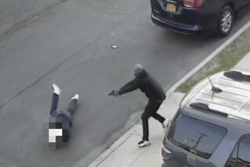 Shocking video shows attempted hit on son of Bonanno crime family associate