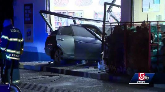 Driver says she sneezed before crashing into Marylou's, Shell station