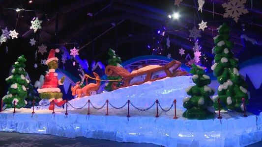 ICE! at Gaylord National Resort takes visitors through Whoville