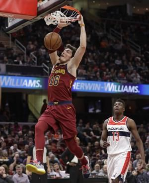 Sexton, Thompson helps Cavaliers rout Wizards 116-101