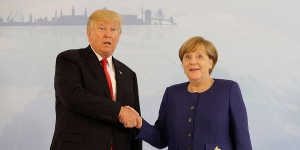 Angela Merkel reportedly prepared for her first meeting with Trump by reading his 1990 Playboy interview
