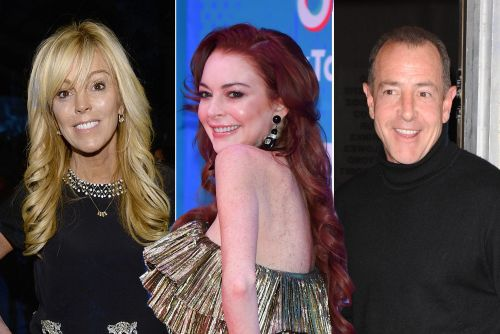 Dina and Michael Lohan make peace for Lindsay's popup club opening