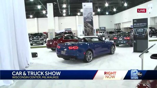 Behind the scenes at the Milwaukee Car & Truck Show