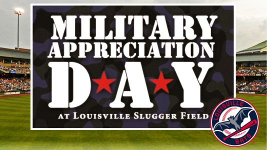 Louisville Bats holding Military Appreciation Day
