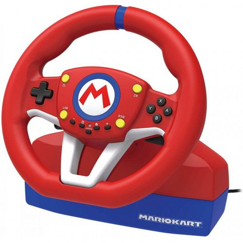New Mario-themed steering wheel controller with pedals is now on pre-order