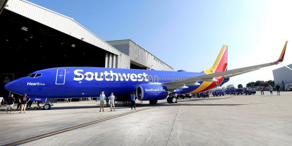 A former Southwest Airlines employee claims the company had a 'whites only' break room in Houston's airport