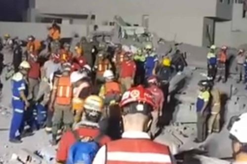 Several dead, multiple missing after collapse of under construction mall