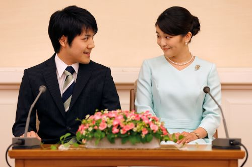 Japan princess overcomes scandal, PTSD to marry college sweetheart