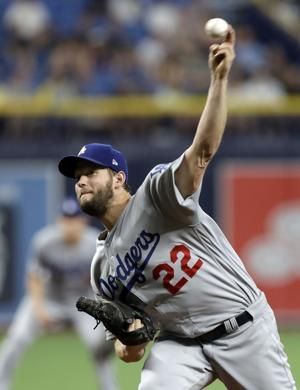 Clayton Kershaw gets 8 Ks, Dodgers beat Tampa Bay 7-3