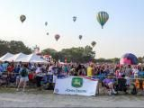 Parking will be a challenge at Freedom Balloon Fest