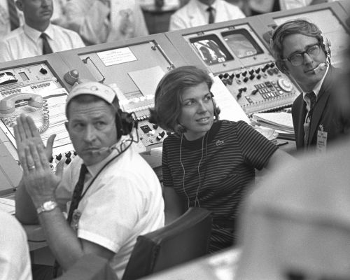 'Get Used to it' - The Women Who Broke Through Apollo's Glass Ceiling