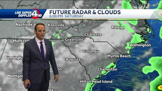 Videocast: Rain moves out, mild weekend