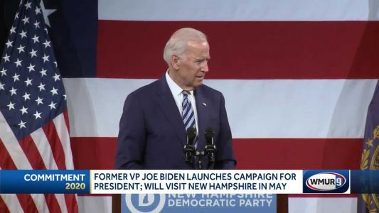Biden earns endorsement from former Gov. Lynch as launches presidential bid