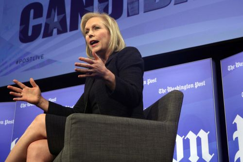 Gillibrand says she's not opposed to 'second chances' for Halperin and Franken