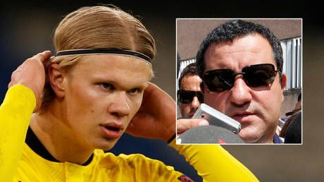 Million dollar man: Super agent Mino Raiola details in-demand football prodigy Erling Haaland's eye-watering wage demands