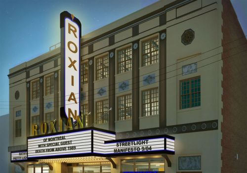 Roxian Theatre in McKees Rocks will have its grand opening in May with British band