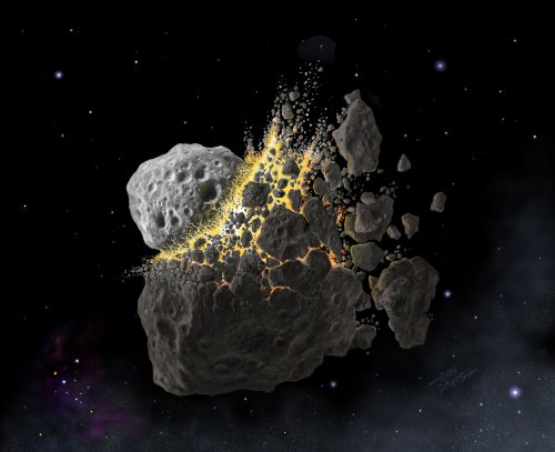 Asteroid Dust Triggered an Explosion of Life on Earth 466 Million Years Ago