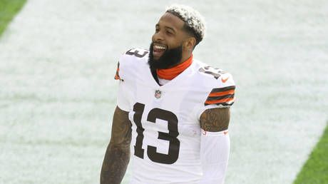 'Covid can't get to me. it's a mutual respect': NFL star Odell Beckham Jr. dismisses coronavirus concerns with bizarre claim