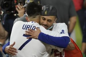 Betts leads Dodgers to Series title in first year in LA