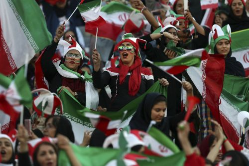 Iranian women allowed to attend soccer match for first time since 1981