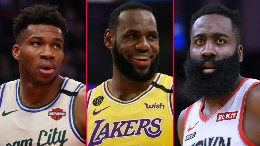 LeBron, Giannis and Harden named MVP finalists