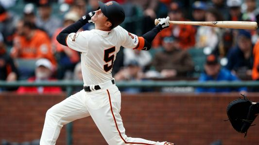 Mike Yastrzemski to play all three of Giants' games at Fenway Park