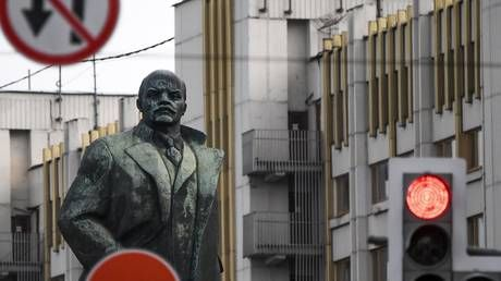 There decades on from Soviet collapse, nearly HALF of all Russians are not interested in 'democratic values' - bombshell new poll