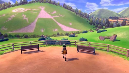 How big is the world map in Pokemon Sword & Shield?