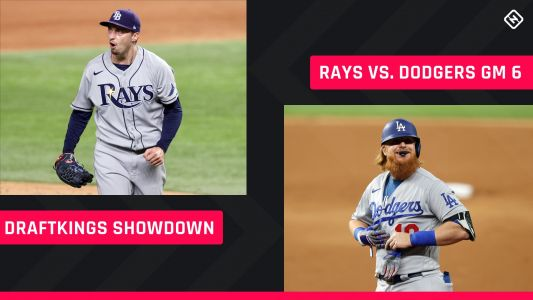 World Series DraftKings Picks: MLB DFS lineup advice for Game 6 Dodgers-Rays Showdown tournaments